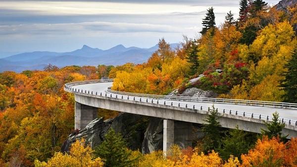Đại lộ Blue Ridge, Mỹ