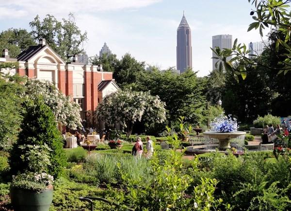 Những khu vườn đẹp nhất thế giới,vườn bách thảo Atlanta, Mỹ