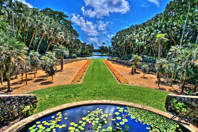 Vườn bách thảo Fairchild,Florida,những công viên đẹp nhất thế giới