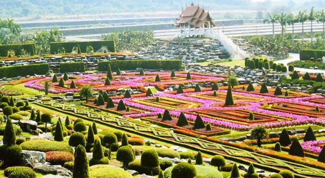 Vườn Suan Nong Nooch, Thái Lan,những công viên đẹp nhất thế giới
