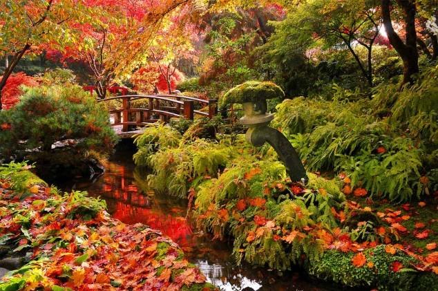 khu vườn Butchart,những công viên đẹp nhất thế giới
