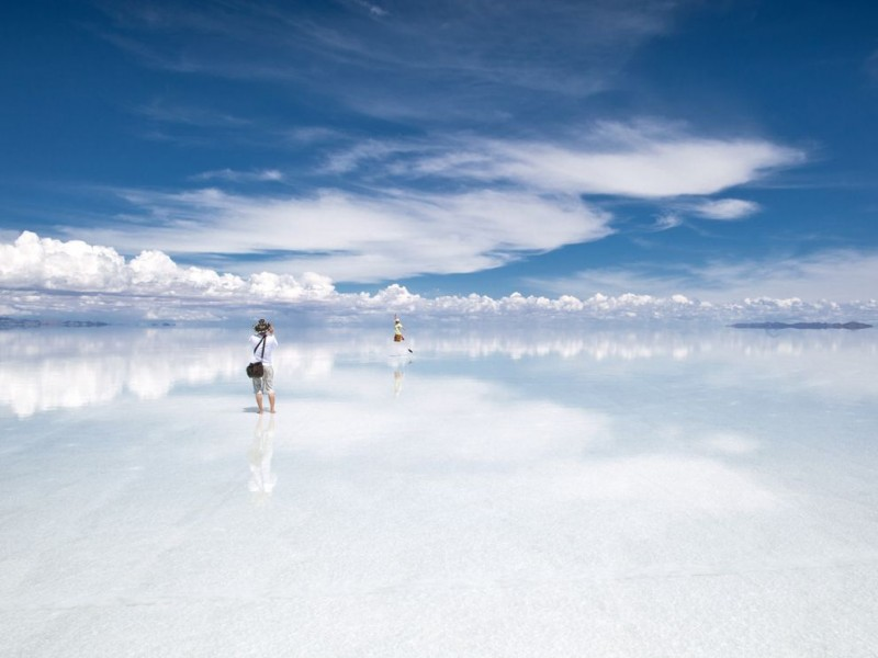Cánh đồng muối tuyệt đẹp Salar de Uyuni ở Bolivia