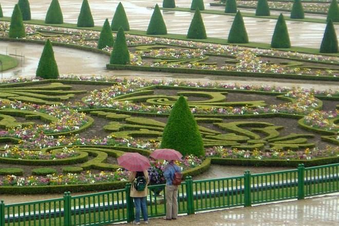Khu vườn tại lâu đài Versailles,Pháp,những công viên đẹp nhất thế giới